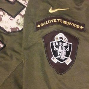 Khalil Mack Raiders Salute to Service Jersey